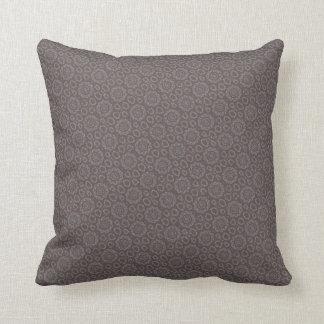 Schablonen-Muster deckte Brown-Kissen mit Ziegeln Kissen