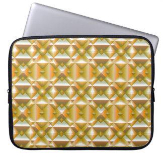 Schablonen-Neopren Laptop Sleeve