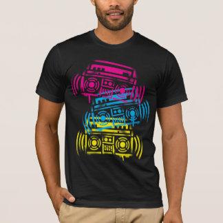 SchablonenBoomboxes T-Shirt