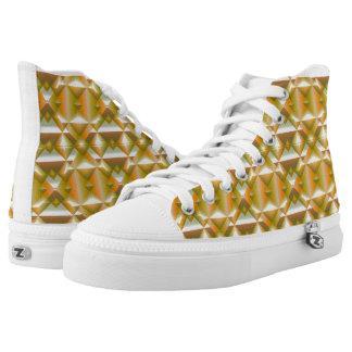 Schablonenschuhe Hoch-geschnittene Sneaker