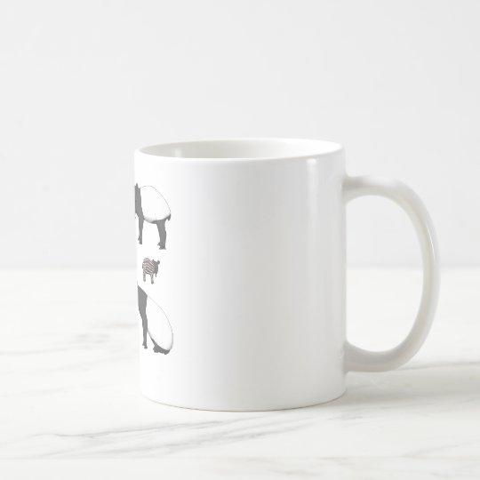 Schabrackentapir Auswahl Kaffeetasse