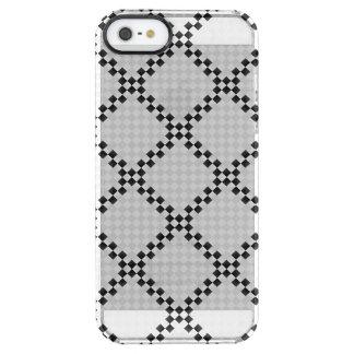 Schach-Auflage Durchsichtige iPhone SE/5/5s Hülle