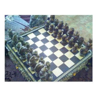 Schach… ein Klassiker! Postkarte