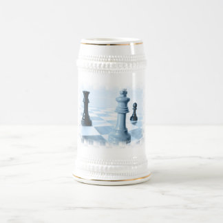 Schach-Entwurfs-Bier Stein Bierkrug
