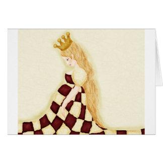 Schach Grußkarte