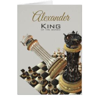 Schach-König Of The Board Karte