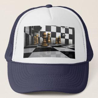 Schach-König Play Truckerkappe