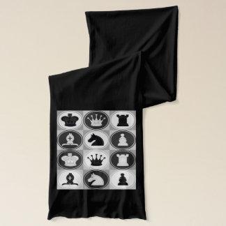 Schach-Muster Schal