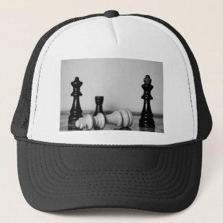 Schach-Niederlage Truckerkappe