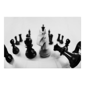 Schach Plakatdrucke