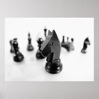 Schach Poster