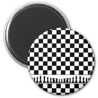 Schach Runder Magnet 5,1 Cm