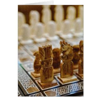 Schach-Set für Verkauf, Basar Khan EL Khalili, Karte