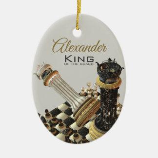 Schach-Set-König Of The Board Keramik Ornament