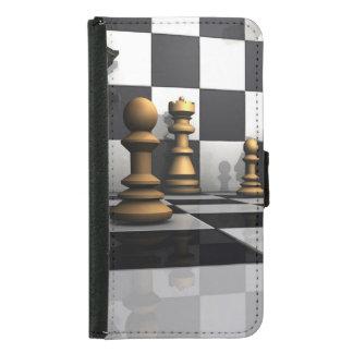 Schach-Spiel-König Samsung Galaxy S5 Geldbeutel Hülle