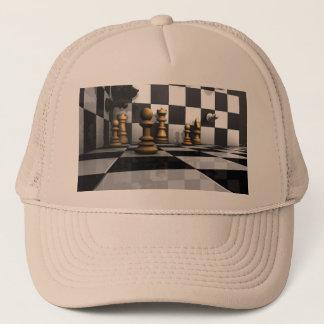 Schach-Spiel-König Truckerkappe