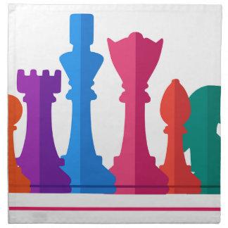 Schach-Spiel Serviette