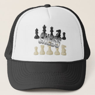 Schach-Spiel Truckerkappe