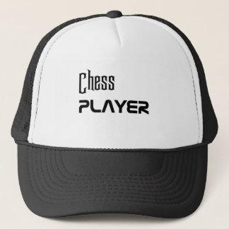 Schach Spieler Truckerkappe