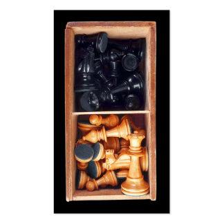 Schach-Stück-Visitenkarte Visitenkarten
