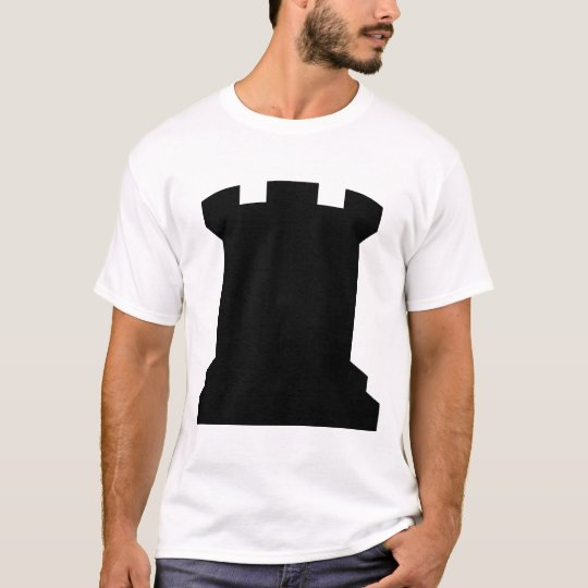 Schach Turm T-Shirt