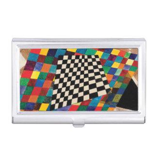 Schachbrett durch Wassily Kandinsky Visitenkarten Dose