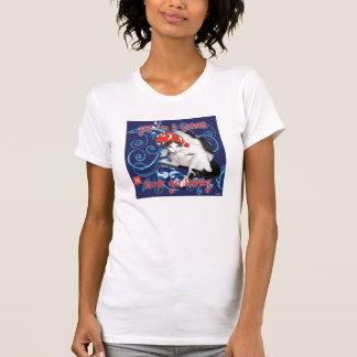Schachbrett Fische T-Shirt