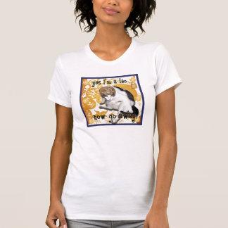Schachbrett Löwe T-Shirt