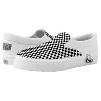 Schachbrett Slip-On Sneaker