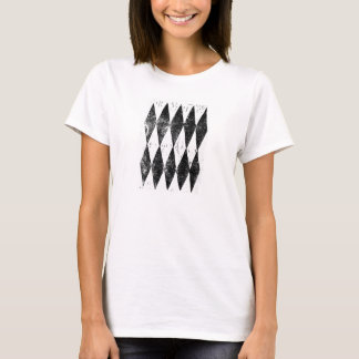 Schachbrett-T - Shirt