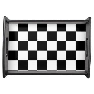 Schachbrett Tablett