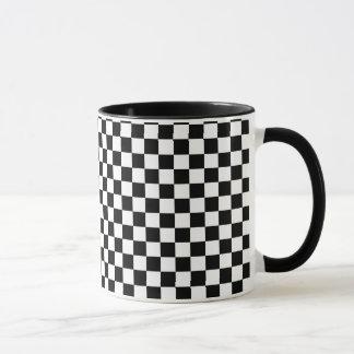 Schachbrett Tasse