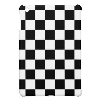 Schachbrettmuster Schwarzweiss iPad Mini Hülle