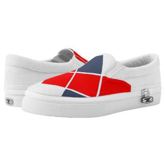 Schachbrettschuhe Slip-On Sneaker