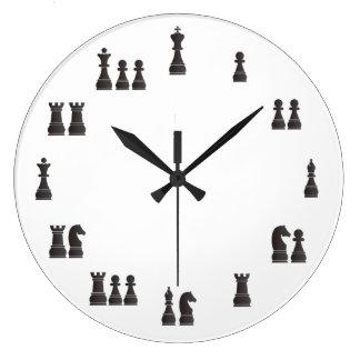 Schachstücke Uhren