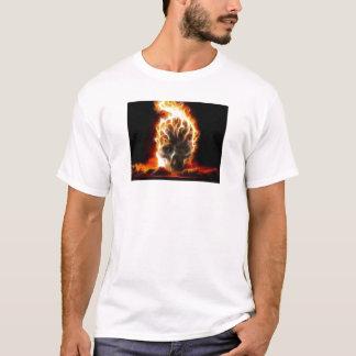 Schädel-Atombombe T-Shirt