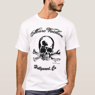 Schädel-Behälter Marc Vachon Hollywood T-Shirt