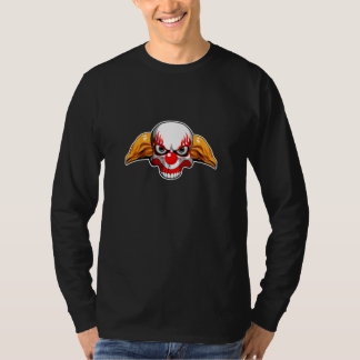 Schädel-Clown T-Shirt
