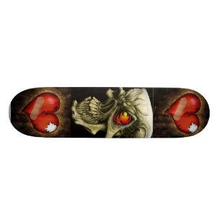 Schädel der Herzen Individuelles Skateboard