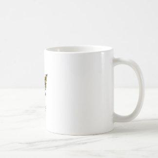 Schädel des Kronen-Kopf-Holzschnitts Neptun Kaffeetasse