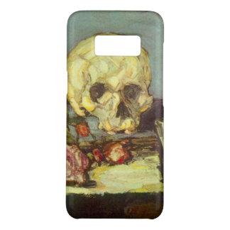 Schädel des Stillleben-w, Kerze, Buch durch Paul Case-Mate Samsung Galaxy S8 Hülle