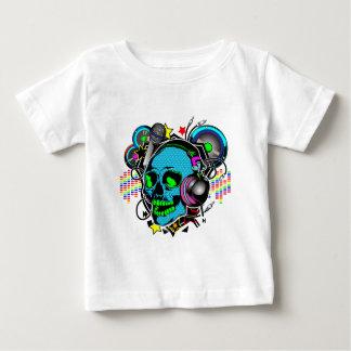 Schädel DJ Baby T-shirt