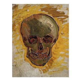 Schädel durch Vincent van Gogh Flyer