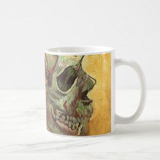 Schädel durch Vincent van Gogh, Vintager Kaffeetasse