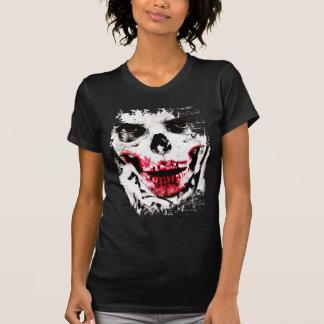 Schädel-Gesichts-Zombie-Mann-Creepy Horror T-Shirt