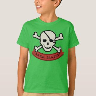 Schädel - grundlegender das Hanes Tagless der Hemd