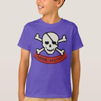 Schädel - grundlegender das Hanes Tagless der lila Shirt