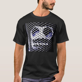 Schädel in einem Käfig T-Shirt