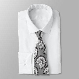 Schädel-indischer Leiter Personalisierte Krawatten