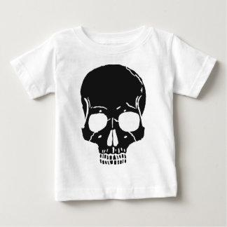 Schädel-Knochen entbeint Skeleton skelettartiges Baby T-shirt